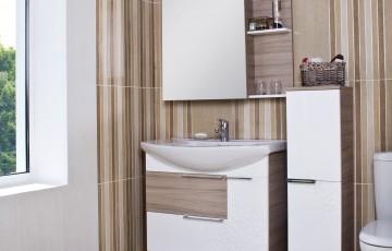 Стильная мебель для ванной: ретро или кантри – что популярнее?
