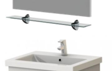 Кованая мебель для ванной комнаты