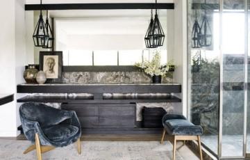 Мебель для ванной с дерева: экотренды в дизайне