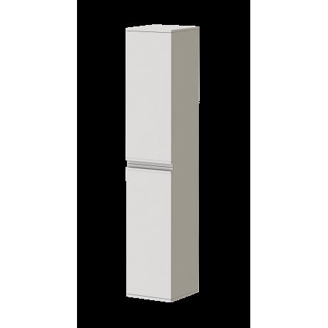 белый минималистический шкаф пенал