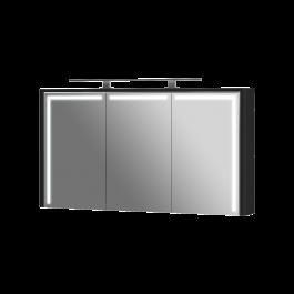 Зеркальный шкаф BOTTICELLI LEVANTO LvM-128 черный
