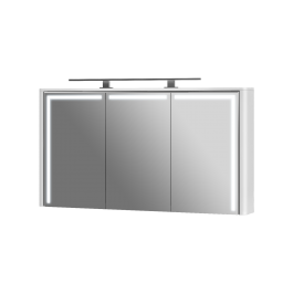 Зеркальный шкаф BOTTICELLI LEVANTO LvM-128 белый