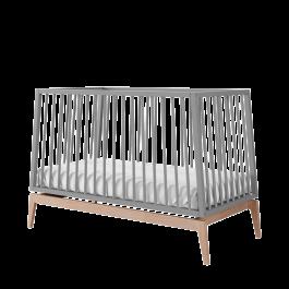 Кроватка LEANDER LUNA 120 серая
