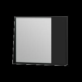 Зеркальный шкаф Manhattan MnhMC-80 черный