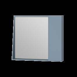 Зеркальный шкаф Manhattan MnhMC-80 голубой