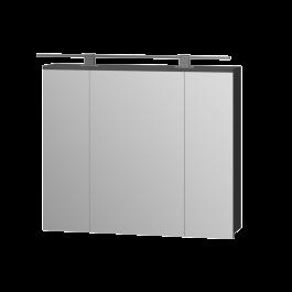 Зеркальный шкаф JUVENTA OSCAR OscMC-80 графит