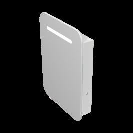 Зеркальный шкаф JUVENTA PRATO PrM-60 белый
