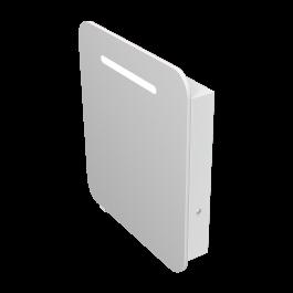 Зеркальный шкаф JUVENTA PRATO PrM-70 белый