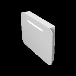 Зеркальный шкаф JUVENTA PRATO PrM-80 белый