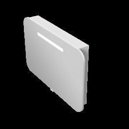 Зеркальный шкаф JUVENTA PRATO PrM-90 белый