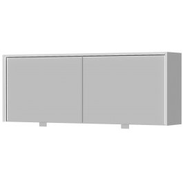 Зеркальный шкаф BOTTICELLI RIMINI UMC-130 белый