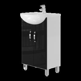 Тумба JUVENTA TRENTO Trn-50 черная