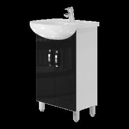 Тумба JUVENTA TRENTO Trn-55 черная