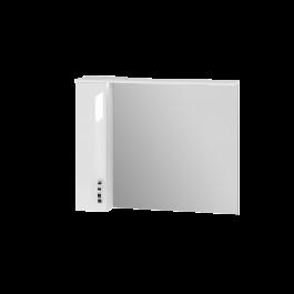 Зеркальный шкаф JUVENTA TRENTO TrnMC-100 левый белый