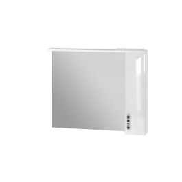 Зеркальный шкаф JUVENTA TRENTO TrnMC-100 правый белый