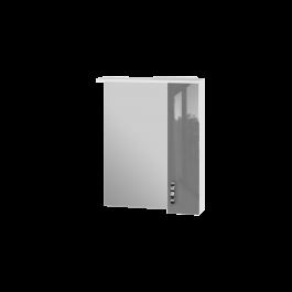 Зеркальный шкаф JUVENTA TRENTO TrnMC-65 правый серый