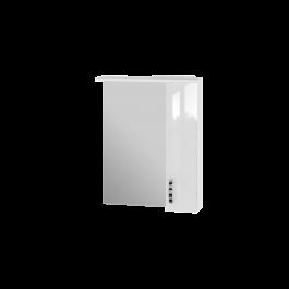 Зеркальный шкаф JUVENTA TRENTO TrnMC-65 правый белый
