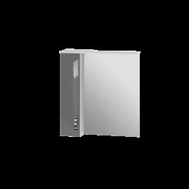 Зеркальный шкаф JUVENTA TRENTO TrnMC-75 левый серый