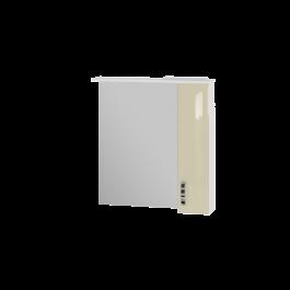 Зеркальный шкаф JUVENTA TRENTO TrnMC-75 правый бежевый