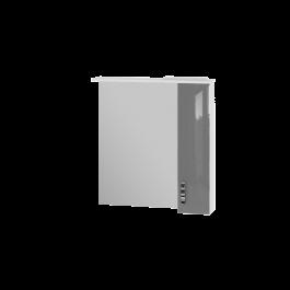 Зеркальный шкаф JUVENTA TRENTO TrnMC-75 правый серый