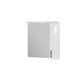 Зеркальный шкаф JUVENTA TRENTO TrnMC-75 правый белый
