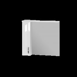 Зеркальный шкаф JUVENTA TRENTO TrnMC-87 левый белый