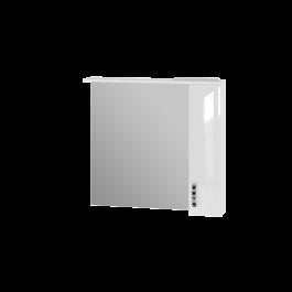 Зеркальный шкаф JUVENTA TRENTO TrnMC-87 правый белый