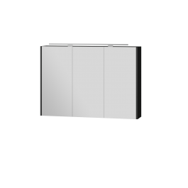 Зеркальный шкаф BOTTICELLI VANESSA VnMC-100 черный
