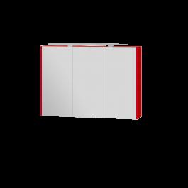 Зеркальный шкаф BOTTICELLI VANESSA VnMC-100 красный