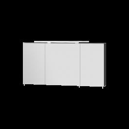 Зеркальный шкаф BOTTICELLI VANESSA VnMC-120 черный