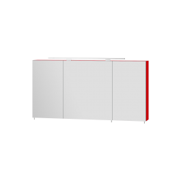 Зеркальный шкаф BOTTICELLI VANESSA VnMC-120 красный