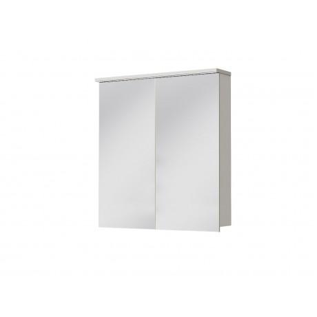 Зеркальный шкаф JUVENTA MONZA MnMC-70 белый