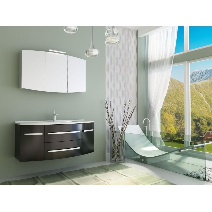Надежная тумба с умывальником для ванной, фото-4