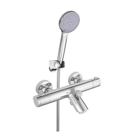 Смеситель в ванную настенный RUBINETA Thermo-10/K