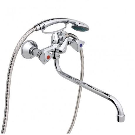 Смеситель в ванную настенный RUBINETA R-1 Lucia (40)