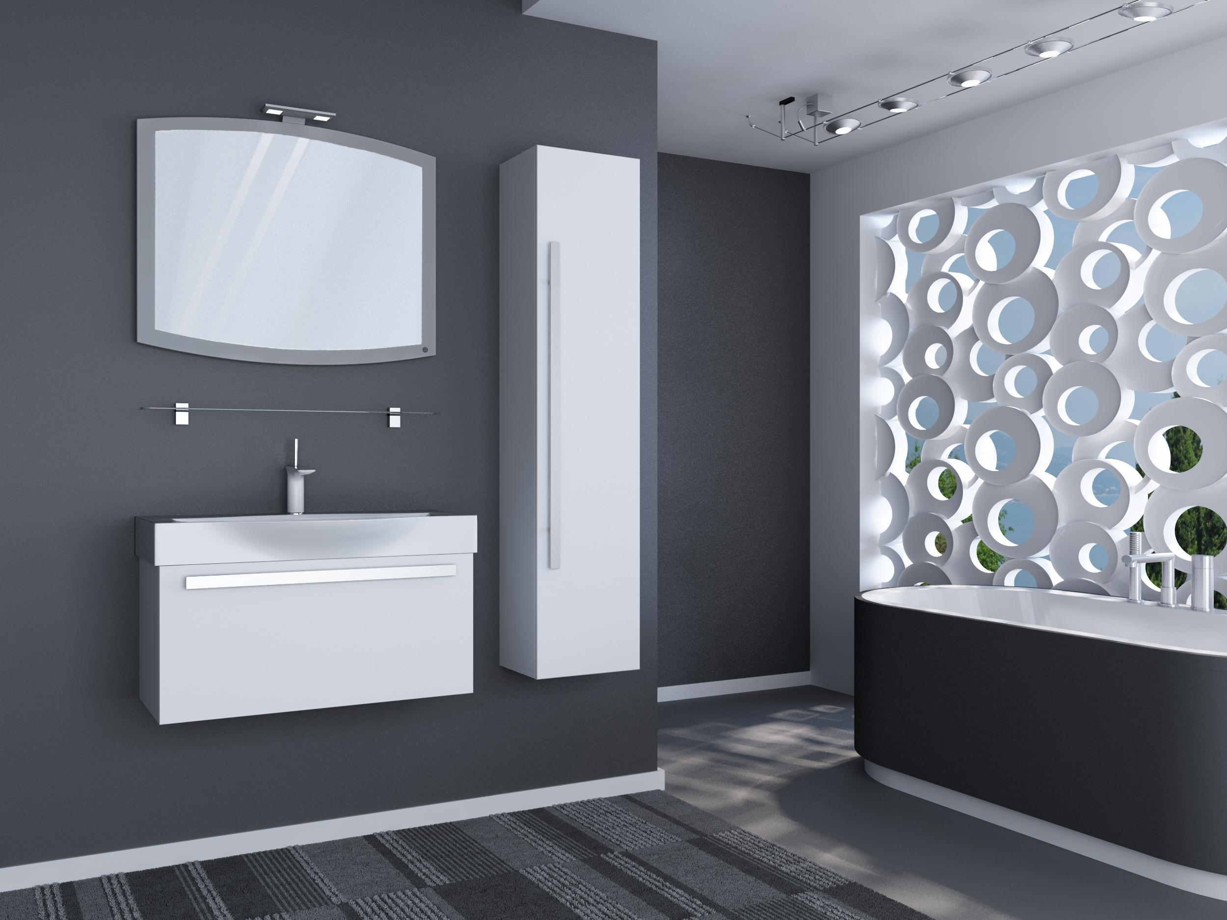 элегантная мебель для ванной классика на все времена Vanna Kimnata